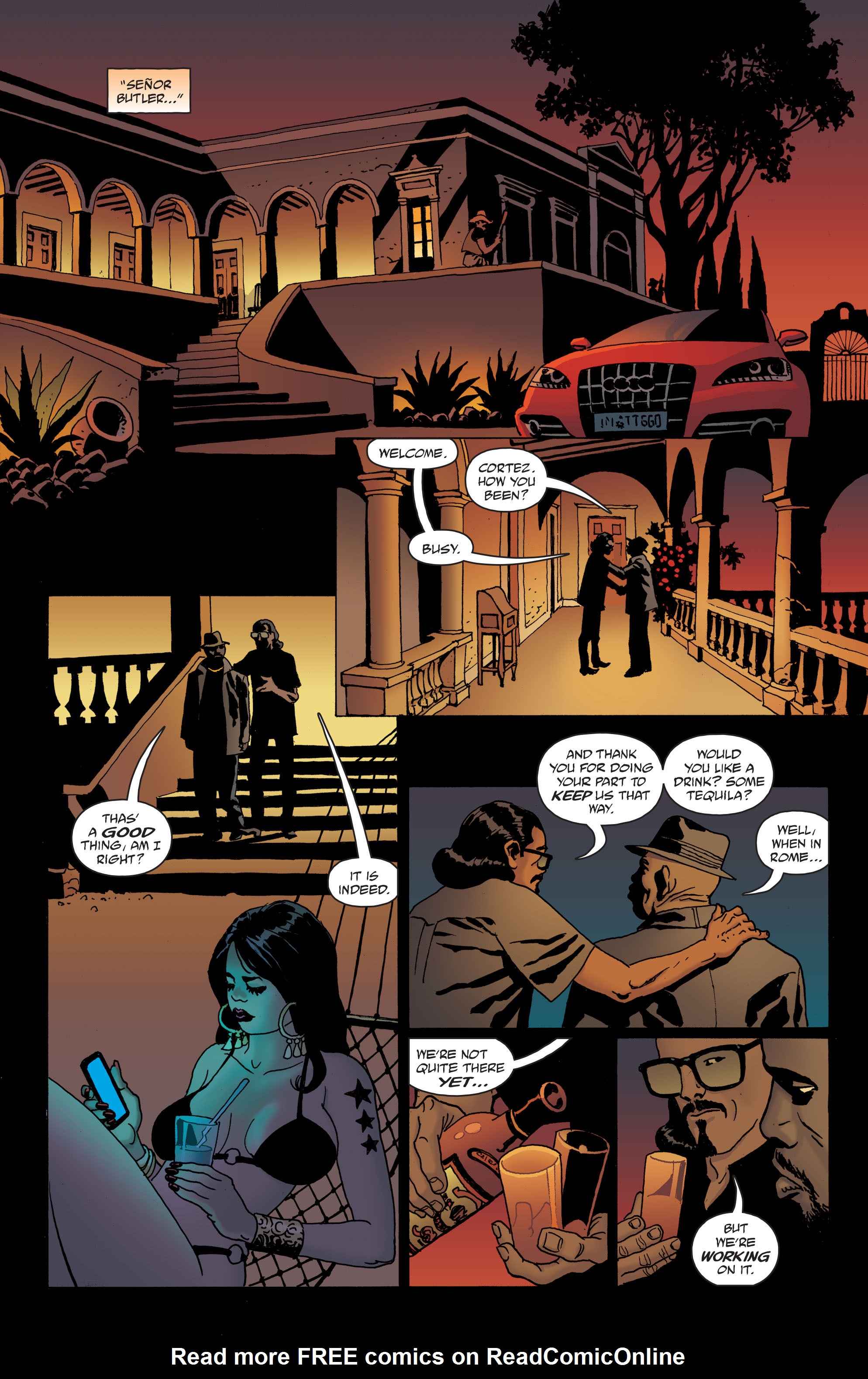 100 Bullets: Brother Lono Full Page 40