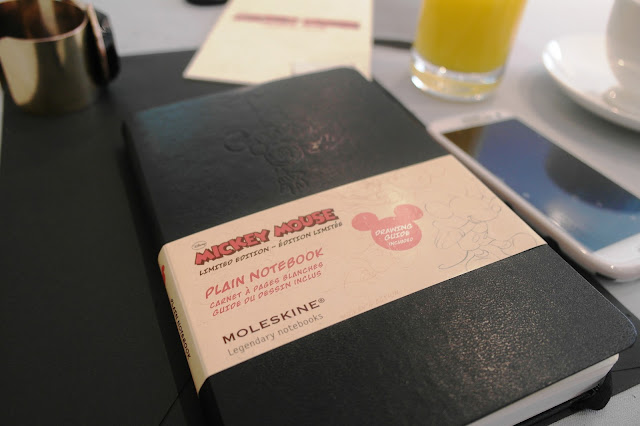 Mickey Mouse Plain Notebook