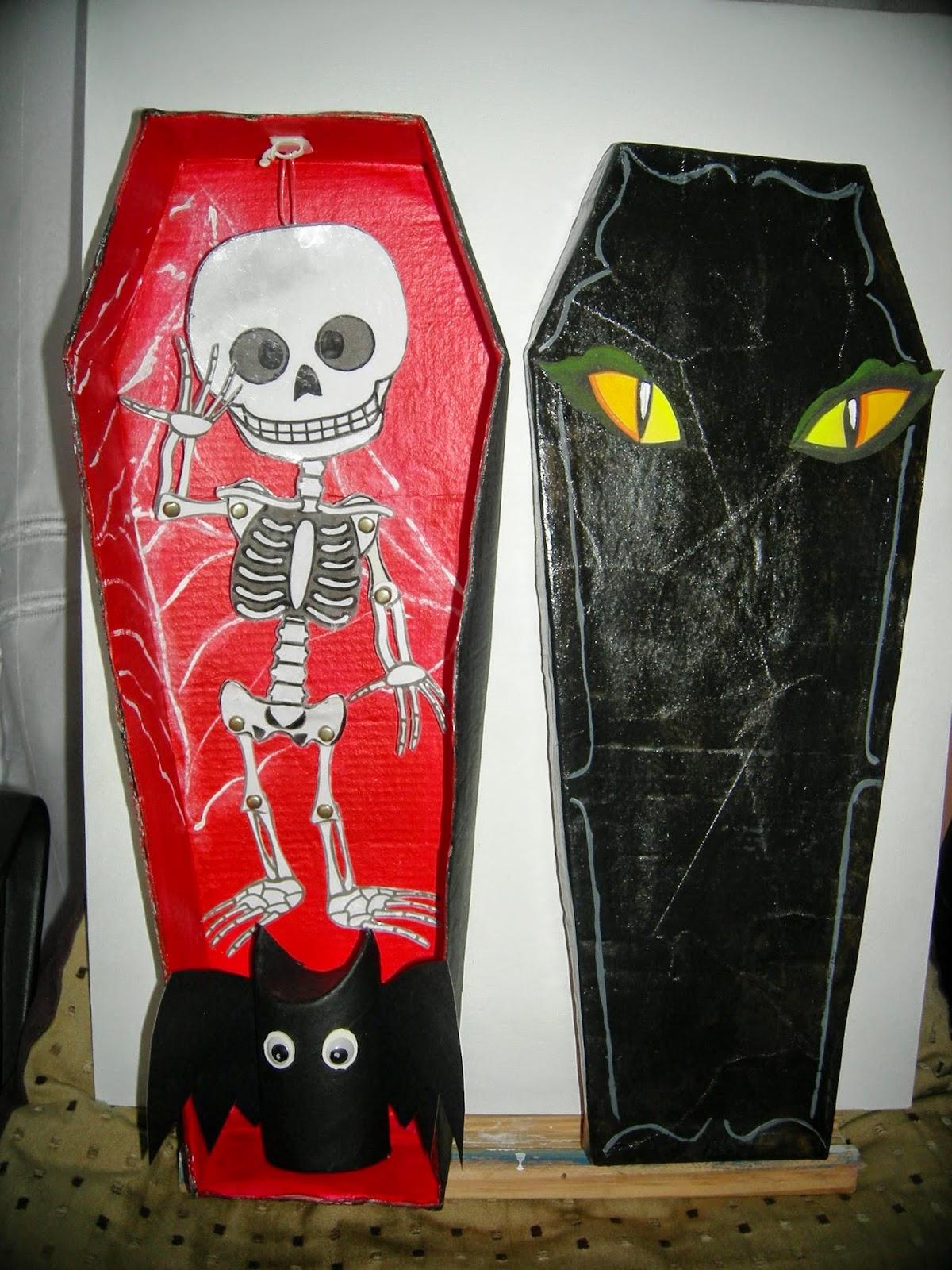 Arte gabrielle adornos decorativos para halloween - Adornos de halloween ...