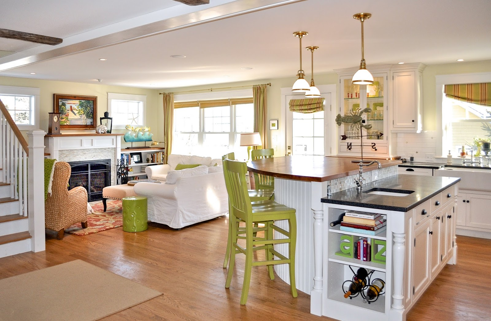 SoPo Cottage: Our Own Open Concept Cottage: First Floor