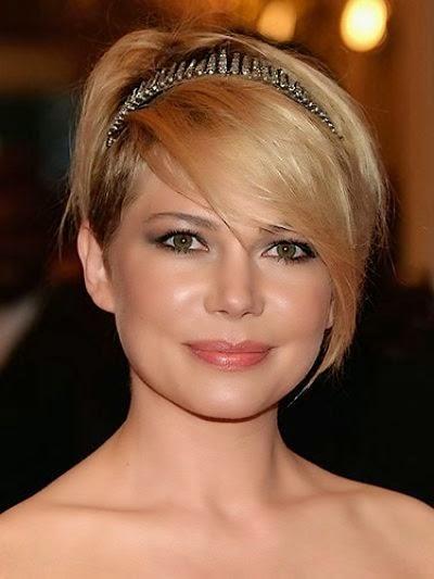 Gaya Rambut Pendek Untuk Muka Bulat Gaya Dan Model Rambut - Gaya rambut pendek buat wajah bulat