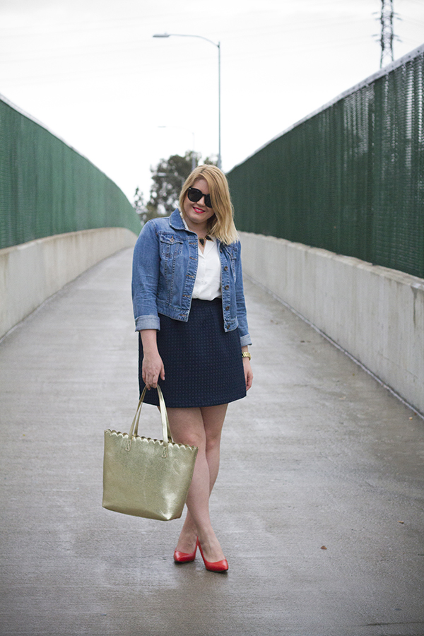 classic pre-spring outfit marshalls #fabfound