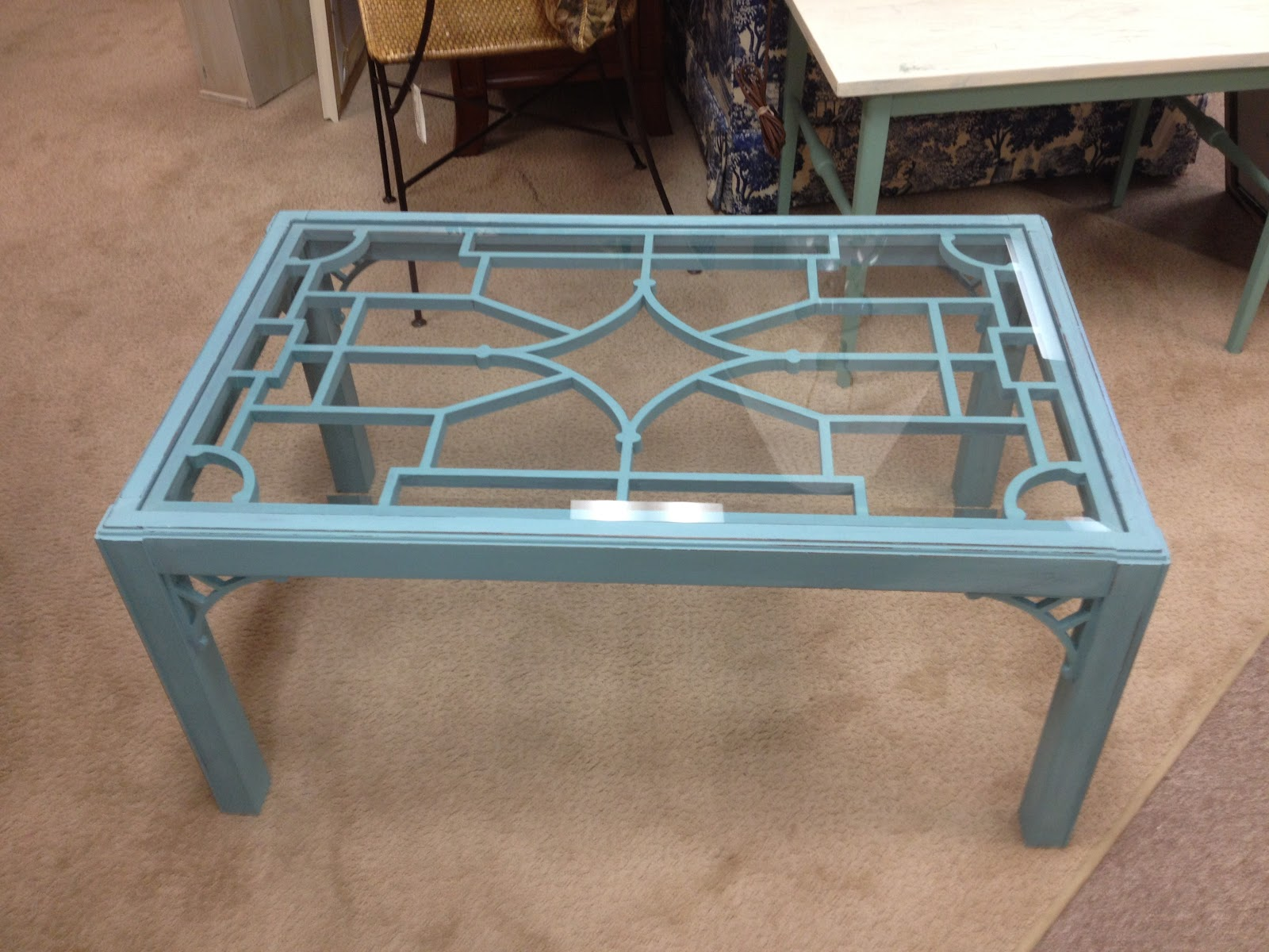Sensible Redesign Chippendale Coffee Table