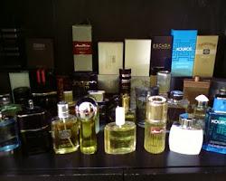 parfüm kolleksiyonumun bir kısmı