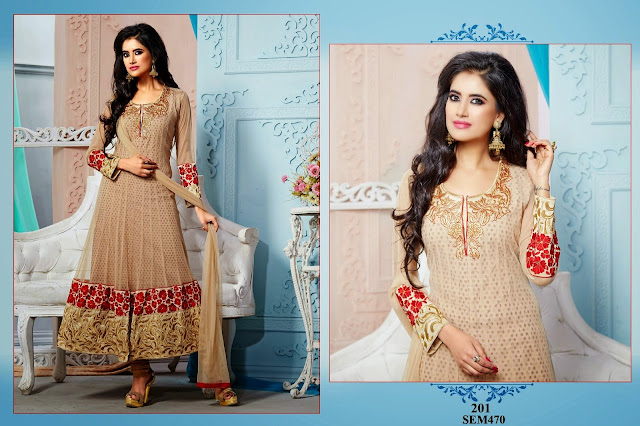 designer anarkali suits wholesale supplier