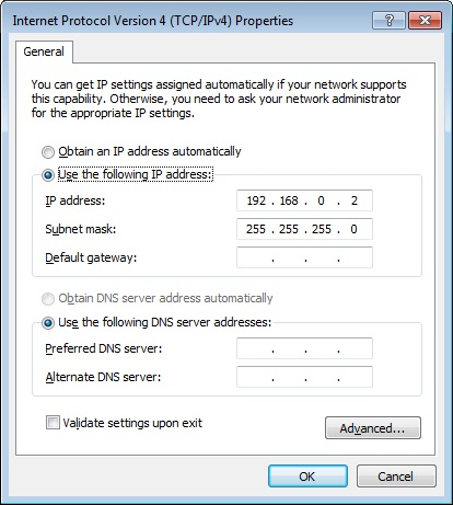 ip address semprot