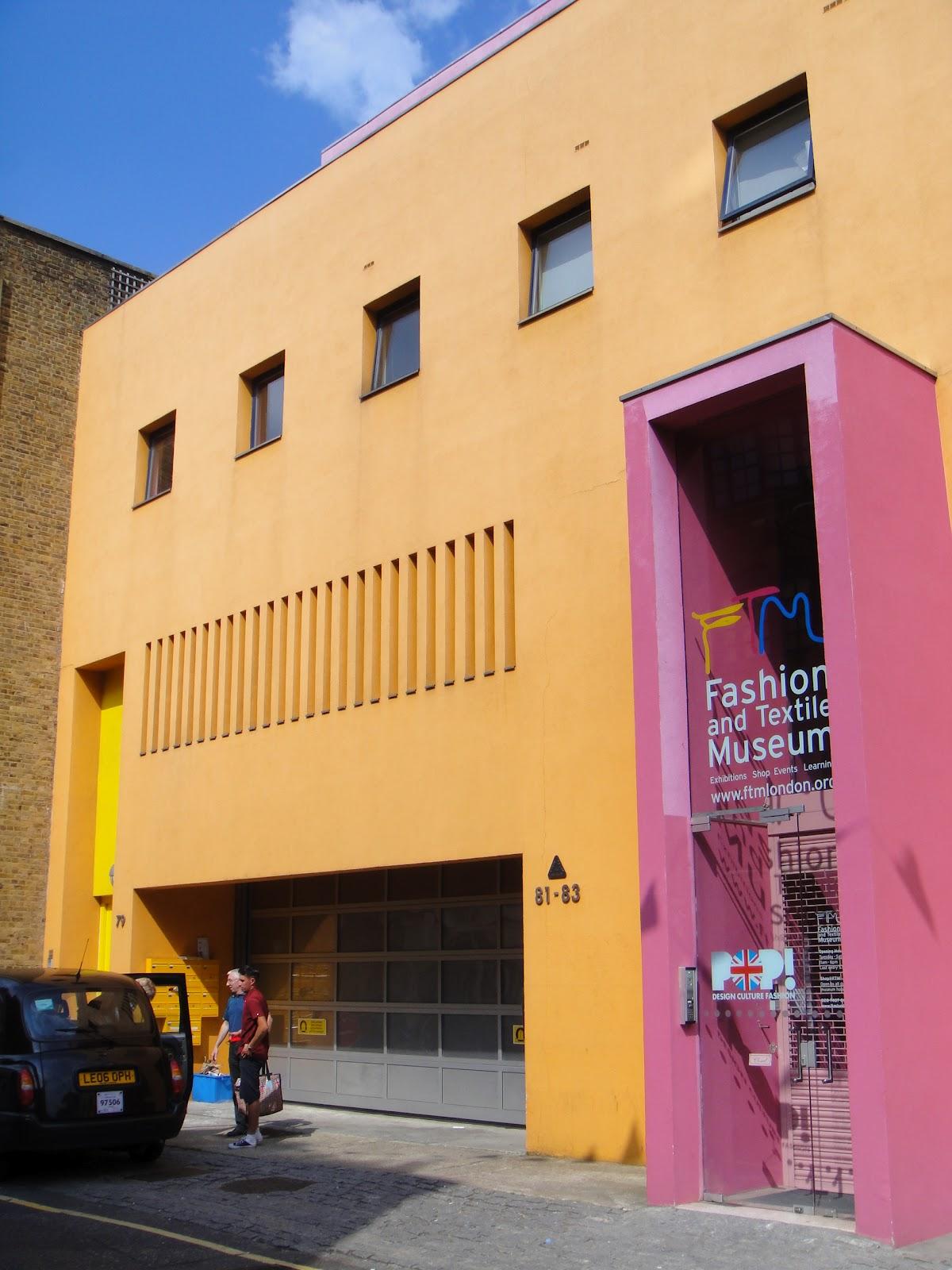 Brutalism And Booze Fashion Amp Textile Museum Bermonsey High St London Se1 Ricardo Legorreta