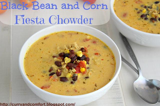 ... Simmer: Black Bean and Corn Fiesta Chowder (Throwback Thursdays