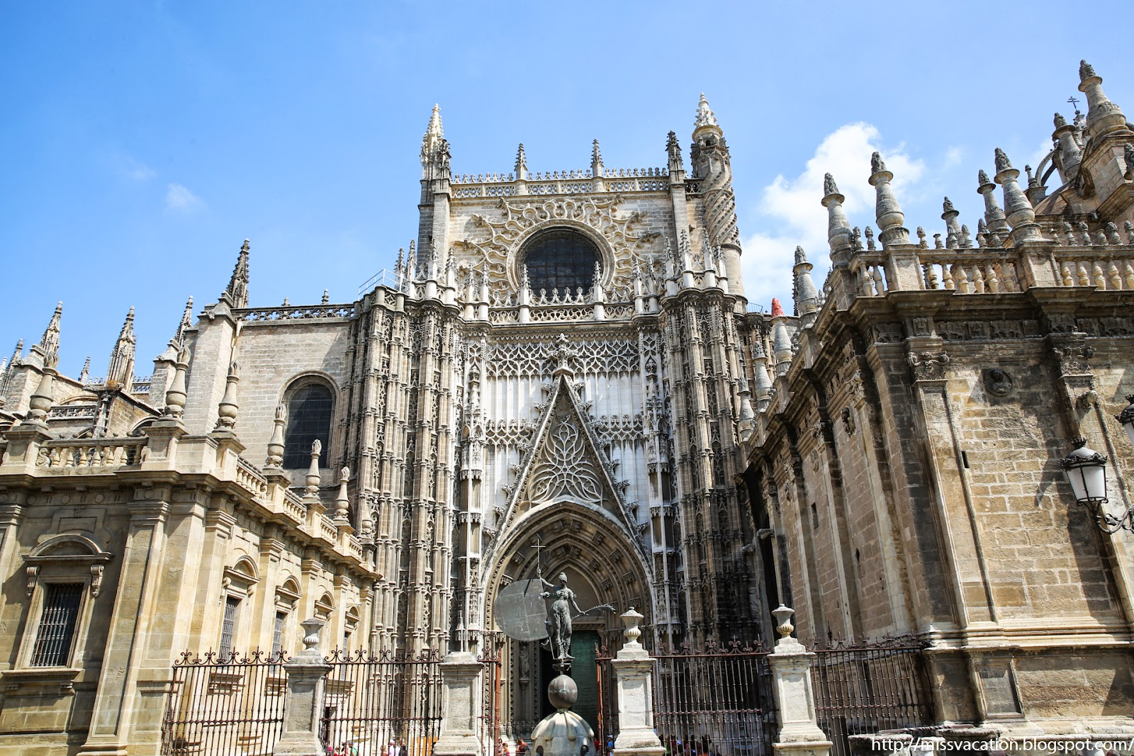 Seville, Spain Day 1: Seville Cathedral  MissVacation