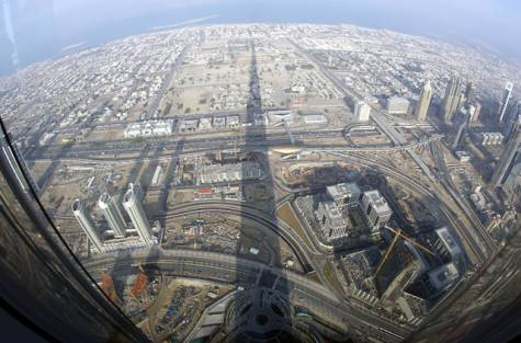 Architecture for guerillas 08 01 2011 09 01 2011 for Burj al khalifa how many floors
