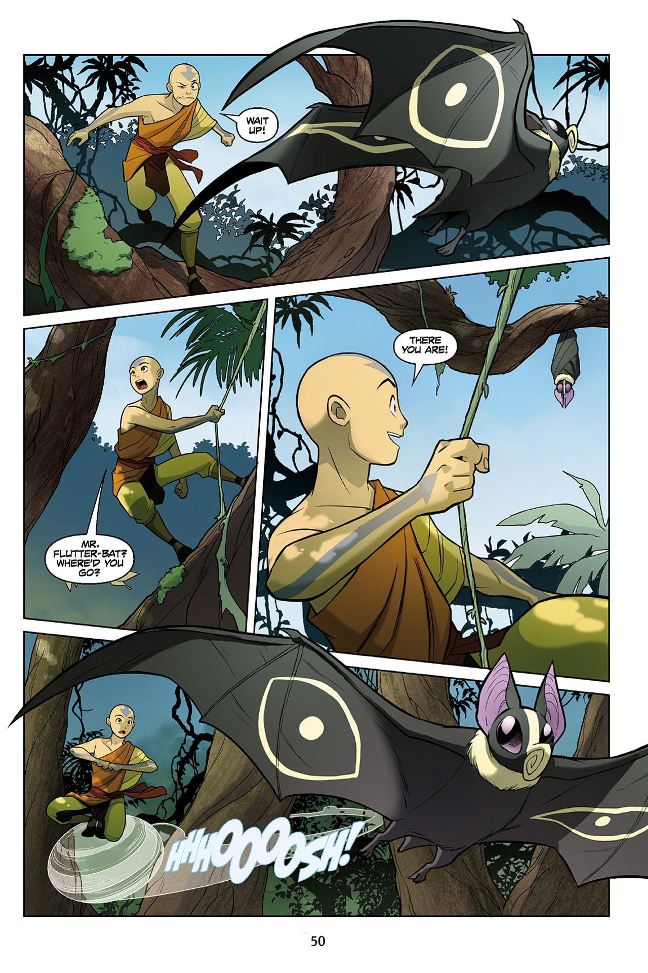 Read online Nickelodeon Avatar: The Last Airbender - The Search comic -  Issue # Part 2 - 51