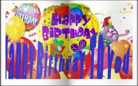 čestitka,cards sretan rođendan,happy birthday