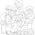 Desenhos de Família para Colorir