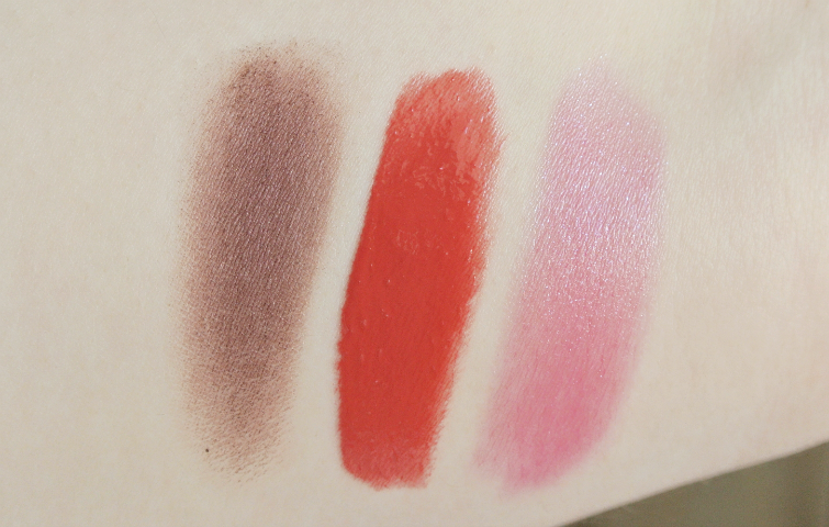 Essence make a statment sparkling miracle lipstick mono shadow swatch noviteti pudrijera
