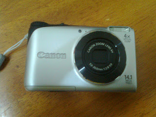 Kamera Olympus fe 3010 & Canon PowerShot A2200