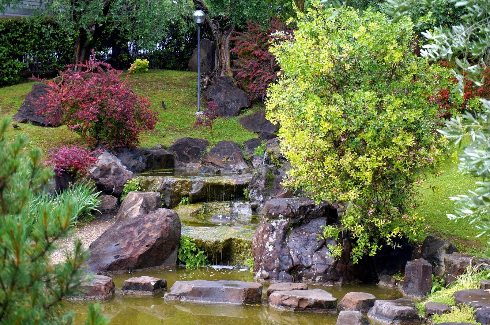 Viaggi nel tempo un angolo di giappone a roma for Il giardino di zen