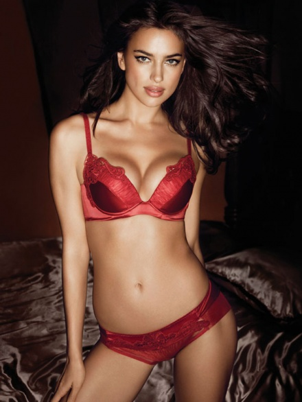 fashion model photos hot: IRINA SHAYK Hot Lingerie Model ...