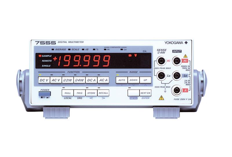 hieu chuan Yokogawa Digital Multimeter 7555