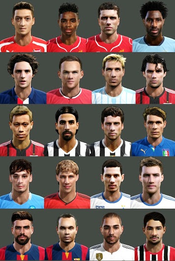 Update PES 2013 Facepack Juni 2015