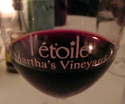l'etoile restaurant at Martha's Vineyard