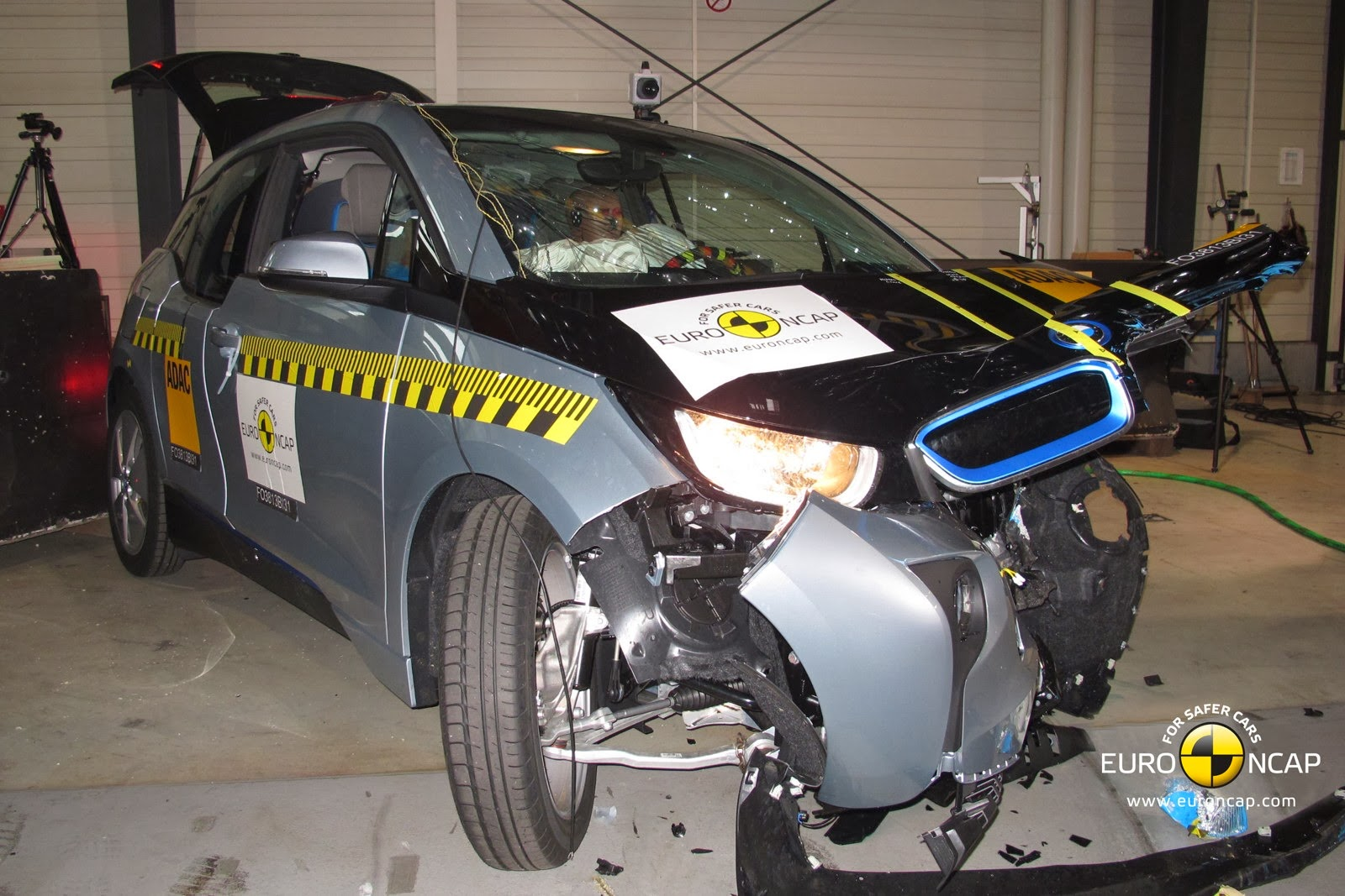 Carbon Fiber In Car Crash Tests