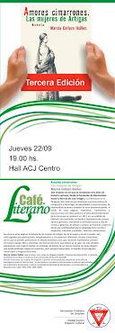 Presentación Café Literario ACJ