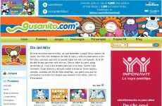 Día del Niño 2012 tarjetas postales Gusanito