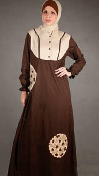 Model Baju Batik Muslimah Dian Pelangi - Model Baju Batik