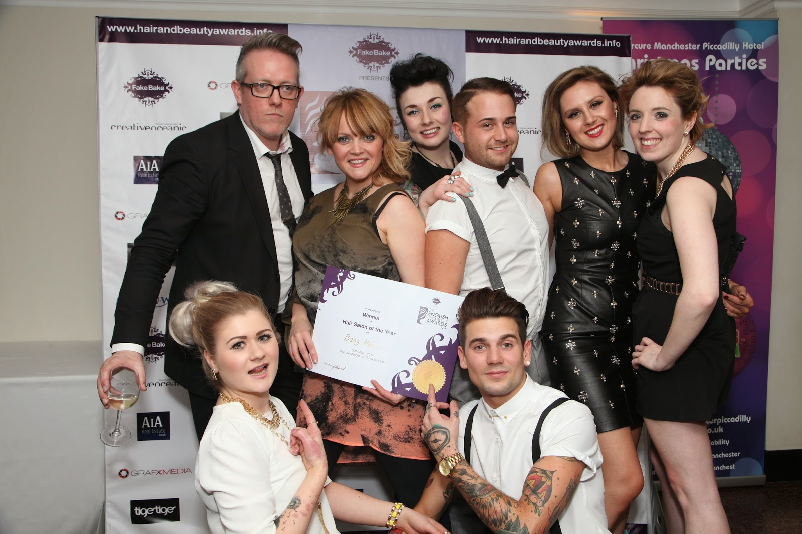 Winners Announced At The English Hair And Beauty Awards