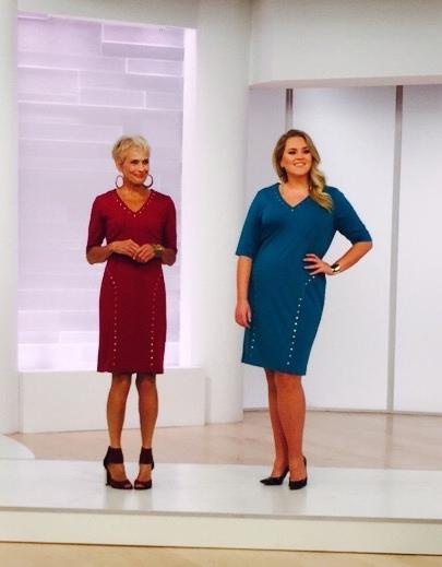 Fashion presentation on evine live shopping channel nick verreos