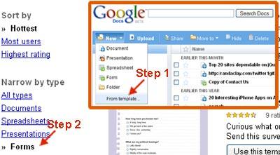 membuat form online dengan google docs