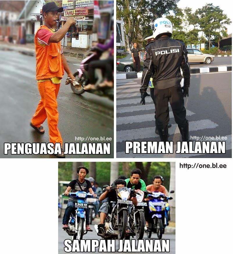 Penguasa Jalanan di Indonesia