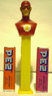 Flash bust PEZ out of package