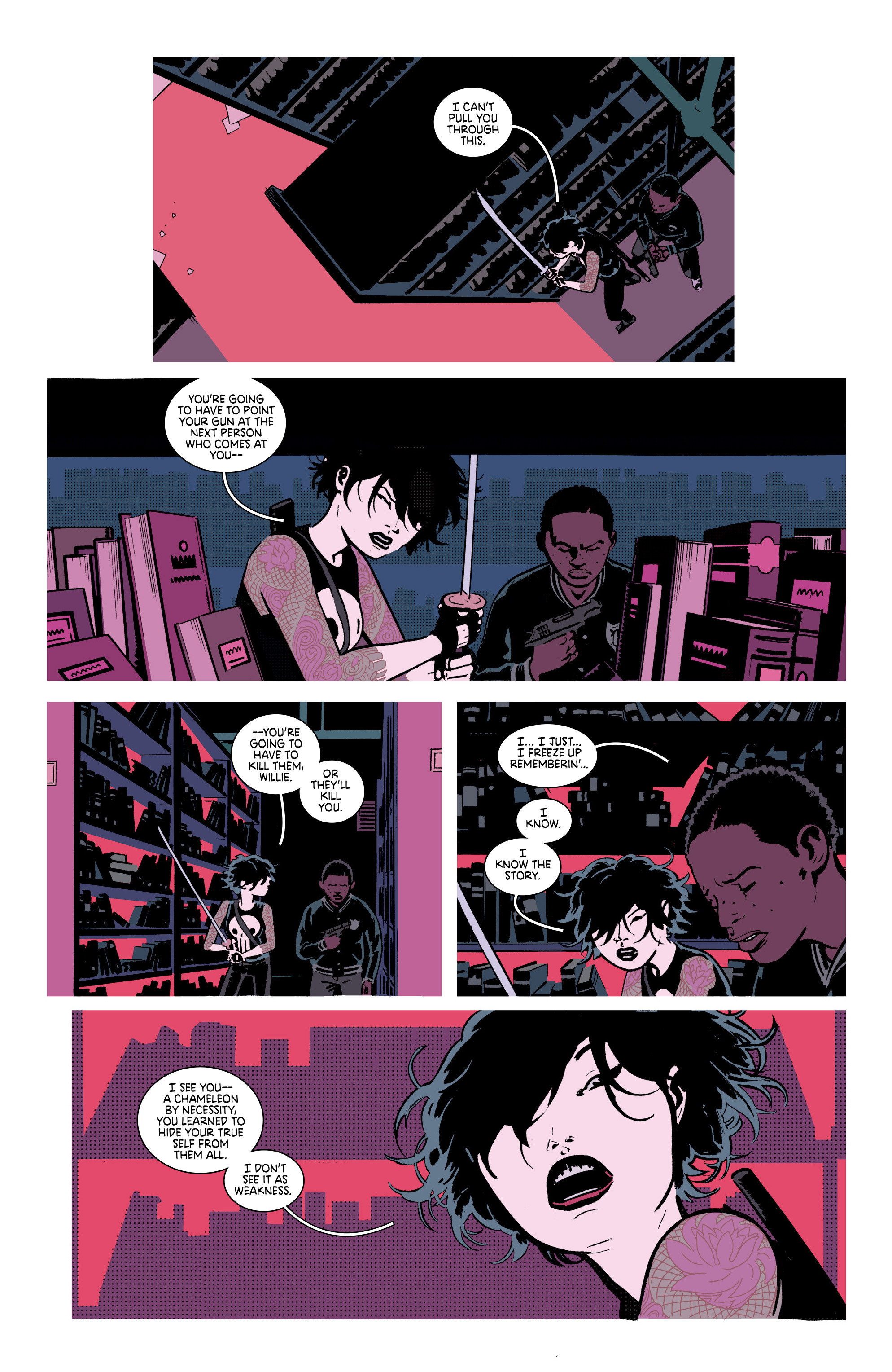 Read online Deadly Class comic -  Issue #18 - 12