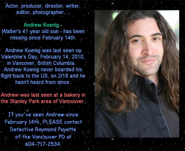 Andrew koenig google und bing finden folgende bilder zu andrew koenig