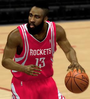 NBA 2K13 James Harden Cyber Face Mod Patch