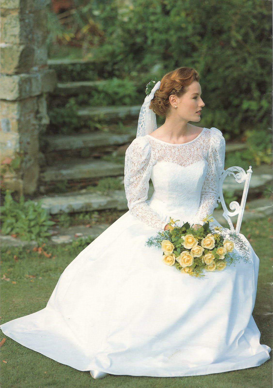 spriggs florist: wedding flowers for laura ashley circa 1993