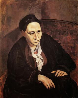Pablo Picasso - Portrait Of Gertrude Stein 1905 6