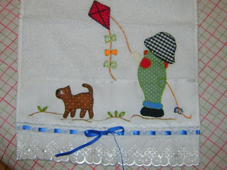 Toalha Infantil de Rosto