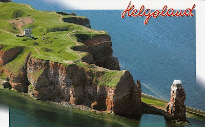 Helgoland - Lange Anna und Radarstation