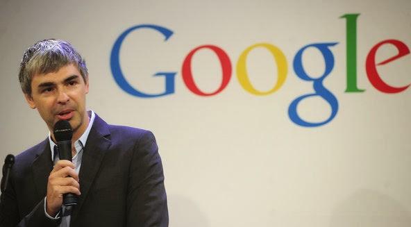 Larry Page Pendiri Google