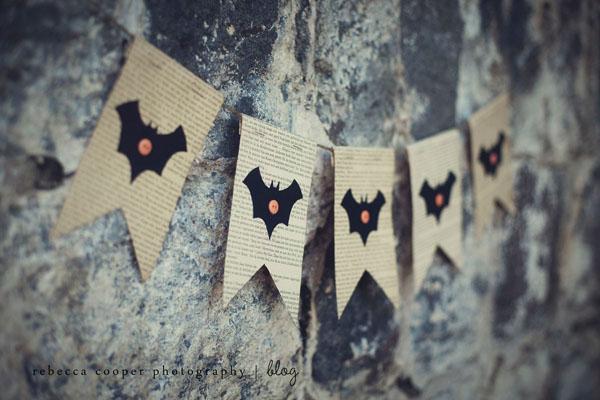 Halloween Bunting halloween bunting by daisyley designs notonthehighstreetcom Simple Halloween Bunting