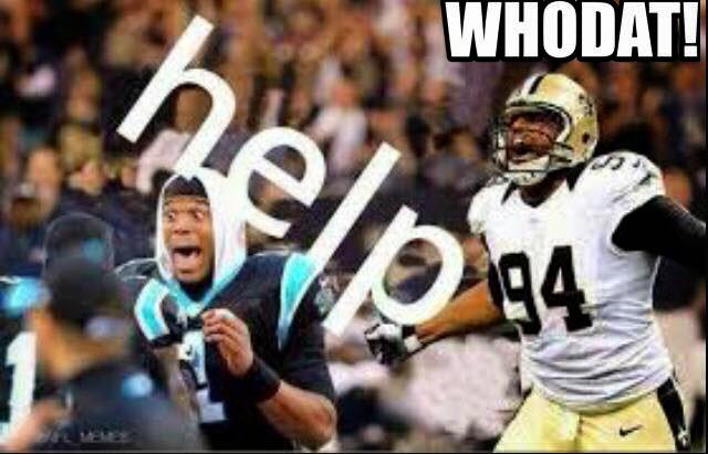 help #newton. whodat! #Jordan - #Saints #PanthersHaters