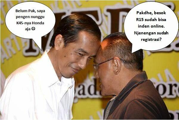Foto Lucu Jokowi