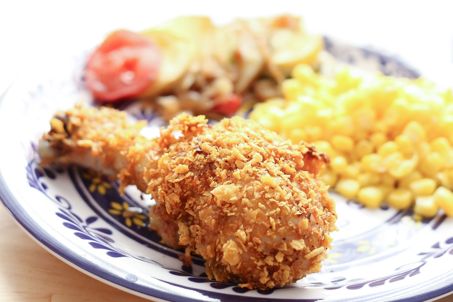 Crispy Cholula Chicken {Oven-Fried} - recipe by Barefeet In The ...