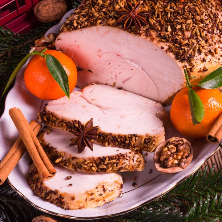 Banco de im genes cena de navidad y fin de a o comida y for Cenas para fin de ano