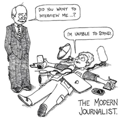 the modern journalist