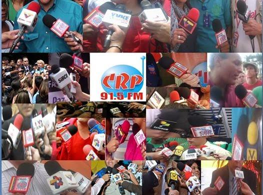 CRP 91.5 FM 12 años presente en todos los escenarios de la revolución