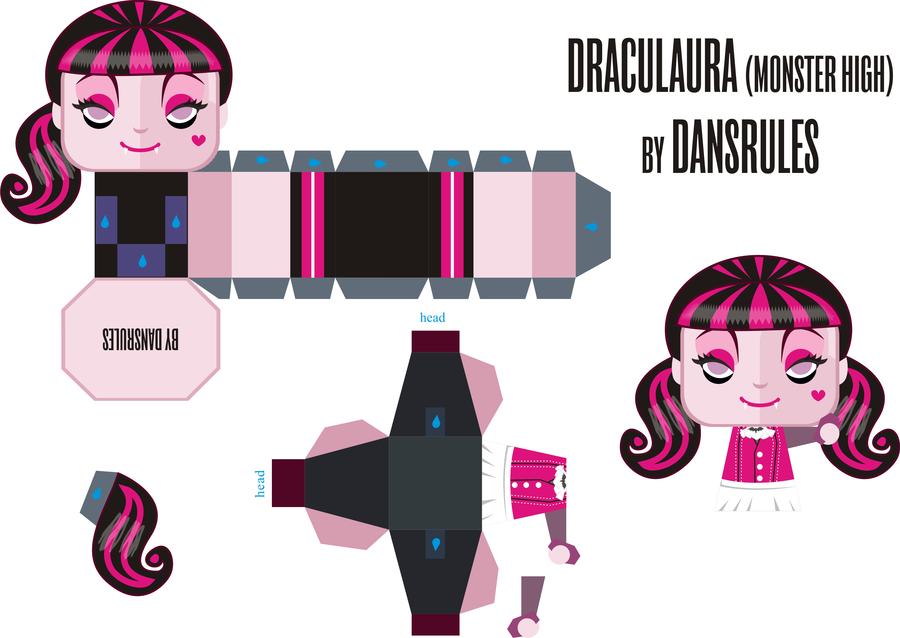 Оригами для кукол монстер хай