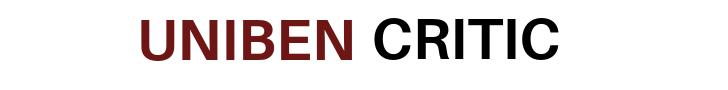 UNIBEN CRITIC